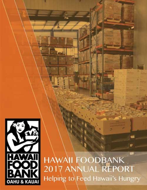 Hawaii Foodbank Annual Report 2017