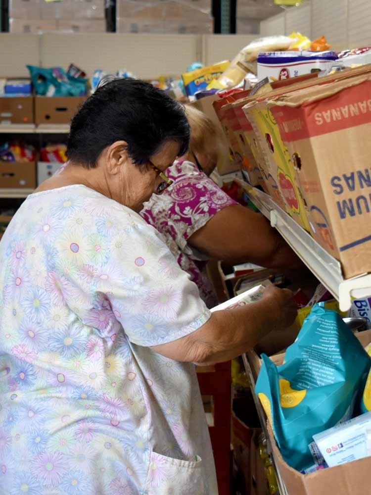 Hawaii Foodbank Volunteer Auntie Audrey