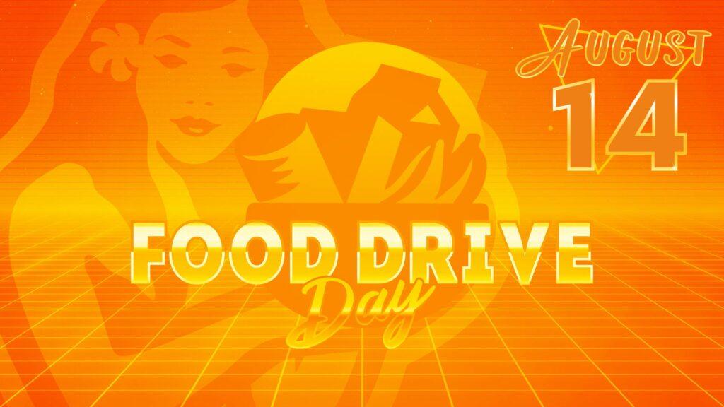 Food Drive Day Goes Virtual
